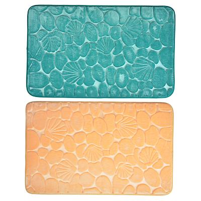VETTA Коврик для ванной фактурный, микрофибра, 50x80см, 2 цвета