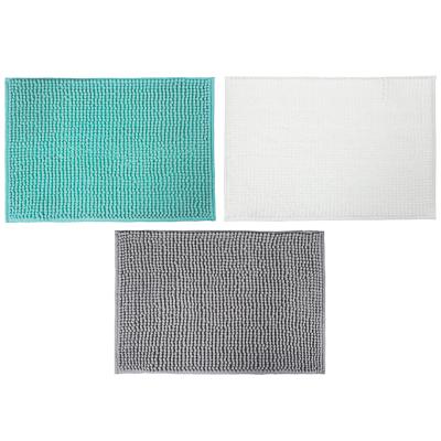 VETTA Коврик для ванной, синель, 40x60см, ворс 1,2см, 3 цвета