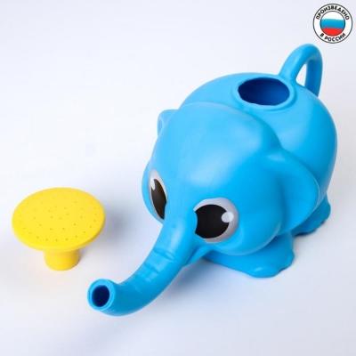 Ковш - лейка для купания детский «Слоник», цвет МИКС