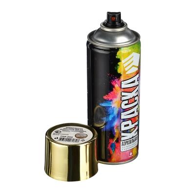 ЕРМАК Краска аэрозоль 400мл, золотистый металлик, золото (9003/188)