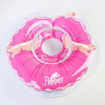 Надувной круг на шею для купания малышей Flipper Балерина