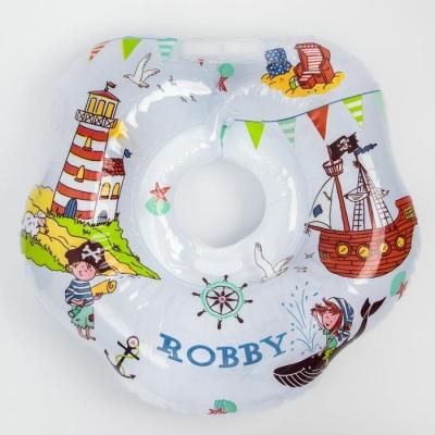 Надувной круг на шею для купания малышей Robby