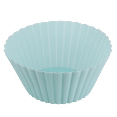 Форма для выпечки силиконовая, 13х6см, 3 цвета