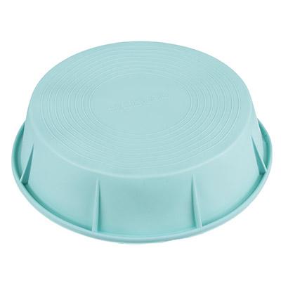 Форма силиконовая d20x5,5см, круглая, 3 цвета