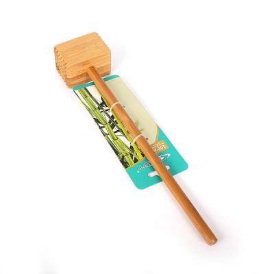 Молоток для отбивки мяса 6,5*4,5*33,3см №1 бамбук (1/30)