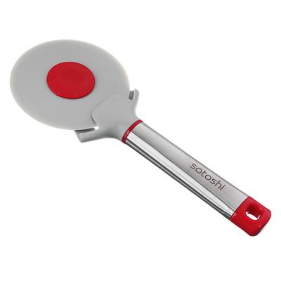 SATOSHI Премьер Нож для пиццы 21,3х8,7х2,4см, нейлон, ручка нерж.сталь, пластик