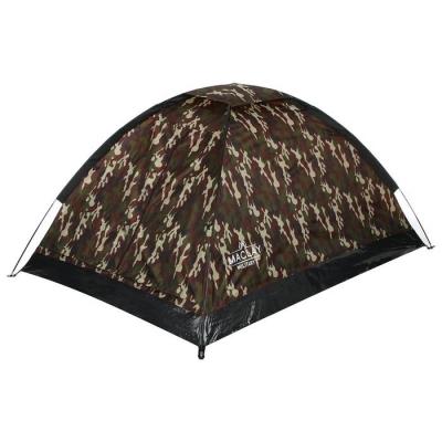 Палатка туристическая MILITARY 2 размер 205 х 150 х 105 см, 2 х местная