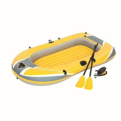 Надувная лодка с вёслами и насосом, 234 х 135 см, 61083 Bestway