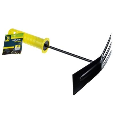 INBLOOM Мотыжка садовая 22x15см с пластиковой ручкой