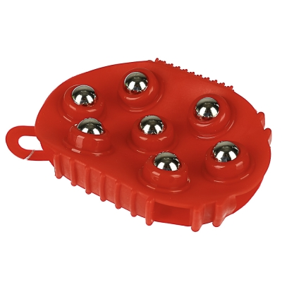 SILAPRO Массажер для тела, ПВХ, пластик, металл 13,5х9,5см, 2 цвета