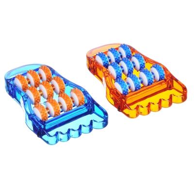SILAPRO Массажер для ступней ног (улучшающий кровообращение) 21,5x12см, пластик, 2 цвета