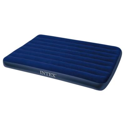 Матрас надувной Classic Downy Fiber-Tech, 137 x 191 х 25 см, 64758 INTEX