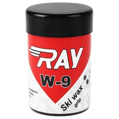 Мазь лыжная RAY W-9 синтетическая, (от -15 до -30°C), МИКС