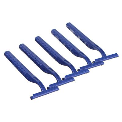 Станки для бритья с двойным лезвием 5шт для мужчин, пластик