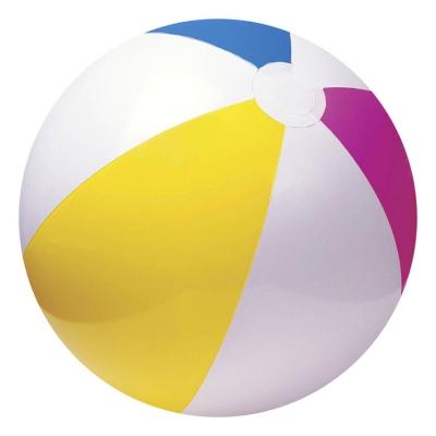 Мяч пляжный «Цветной», d=61 см, от 3 лет, 59030NP INTEX
