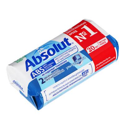 Мыло твердое Absolutантибактериальное к/у 90г, арт.6059