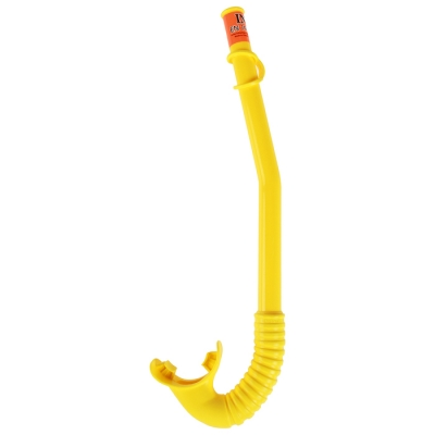 Трубка для плавания HI-FLOW, от 3-10 лет, цвета МИКС, 55922 INTEX