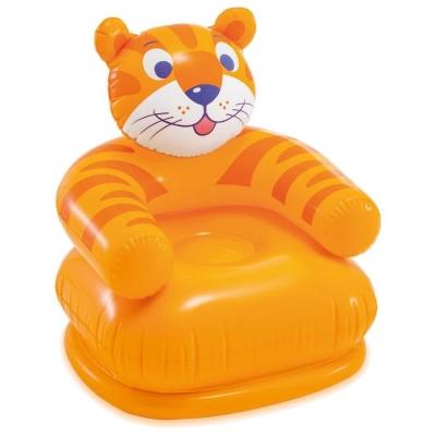 Кресло надувное «Весёлые звери», от 3-8 лет, до 35 кг, цвета МИКС, 68556NP INTEX