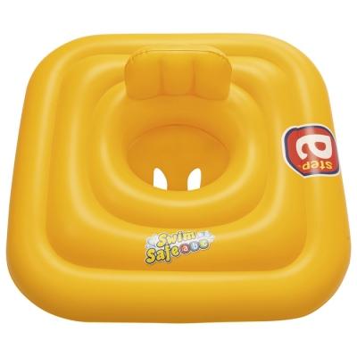 Плотик для плавания Swim Safe, ступень «A», c сиденьем и спинкой, 76 х 76 см, 32050 Bestway