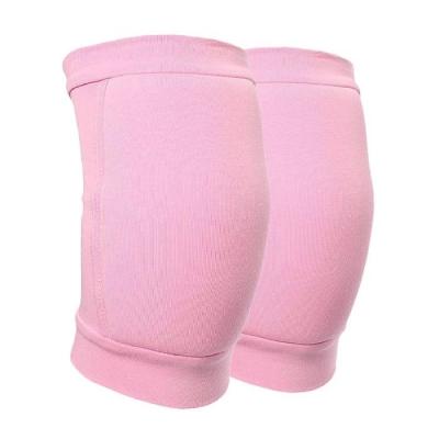 Наколенник для гимнастики и танцев с уплотнителем, размер XS, 4-7 лет, цвет розовый