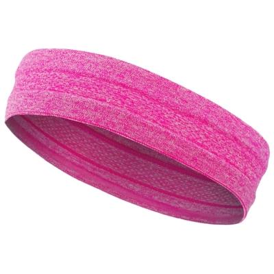 Повязка на голову, цвет розовый