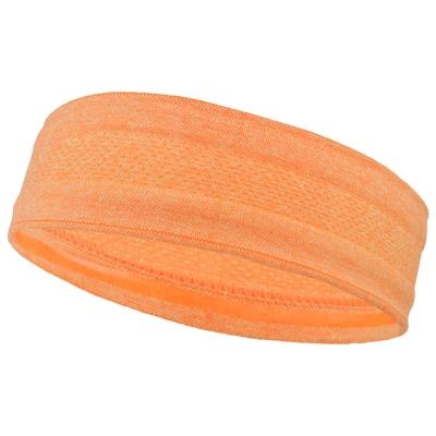 Повязка на голову, цвет оранжевый