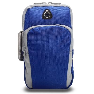 Сумка спортивная на руку 18х12 см, цвет синий