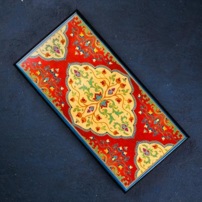 Нарды средние «Орнамент» 50 × 50 см
