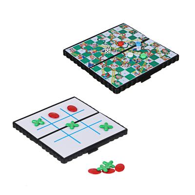 LDGames Игра в виде Крестиков-ноликов магнитные дорожные 13х13см, пластик, металл