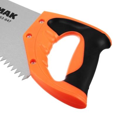 ЕРМАК Ножовка по дереву, 350мм, зуб 8мм.