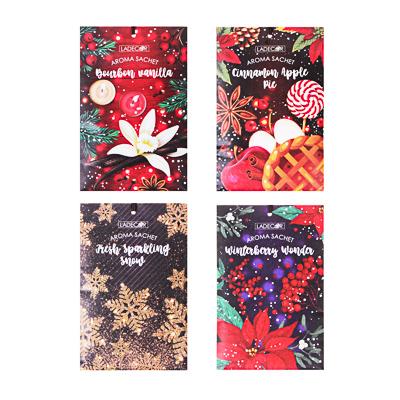 LADECOR Аромасаше, праздничные ароматы, 20гр, 4 аромата