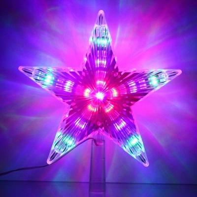 """Фигура светодиодная ЗВЕЗДА ДЛЯ ЁЛКИ """"Луч"""" 31 лампа LED, 22 см, Мультицвет"""