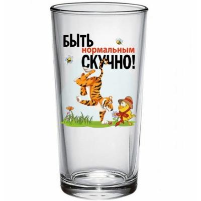 "Стакан ""Тигры приколы"" 6 видов 230мл"