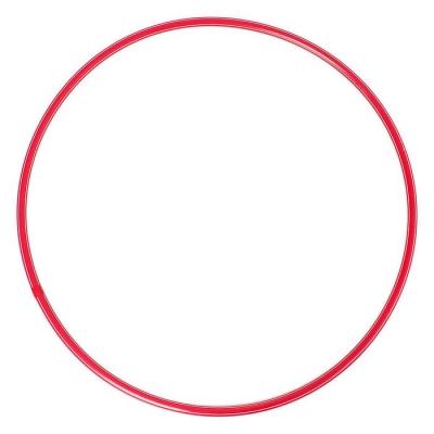 Обруч, диаметр 70 см, цвет красный