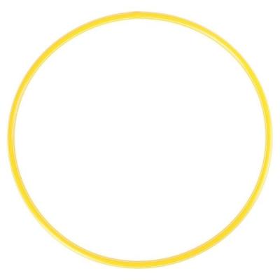 Обруч, диаметр 60 см, цвет жёлтый