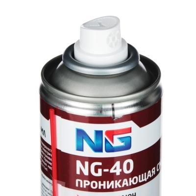 NEW GALAXY Проникающая смазка Мастер-ключ, аэрозоль, NG-40, 210 мл