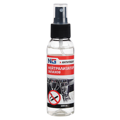 NG Нейтрализатор запахов, антитабак, 100мл, пластик