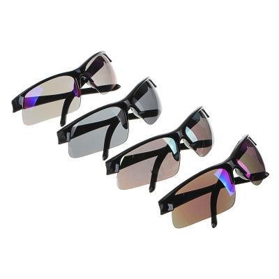 Очки солнцезащитные мужские, пластик, 18х4,4см, 2-6 цветов, 515257