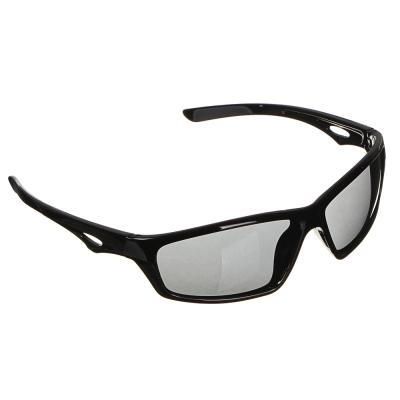 GALANTE Очки солнцезащитные мужские, пластик, 144х33мм, черный