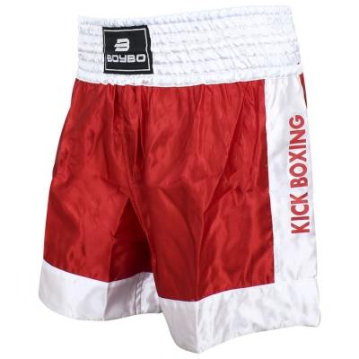Шорты BoyBo для кикбоксинга, размер XL, цвет красный