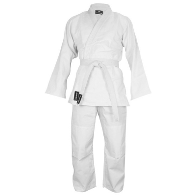 Кимоно дзюдо 425 гр/м BoyBo, цвет белый, рост 120