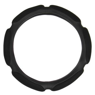 NEW GALAXY Оплетка руля, спонж, 6 подушек, черный, разм. (S)