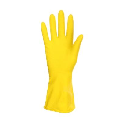 VETTA Перчатки резиновые желтые XL