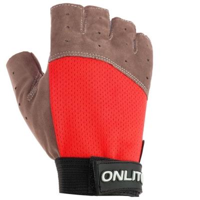 Перчатки спортивные,, цвет красный