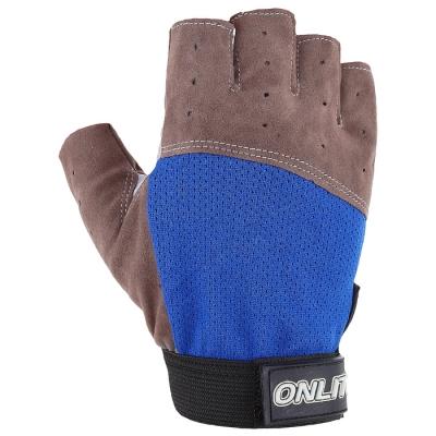 Перчатки спортивные,, цвет синий