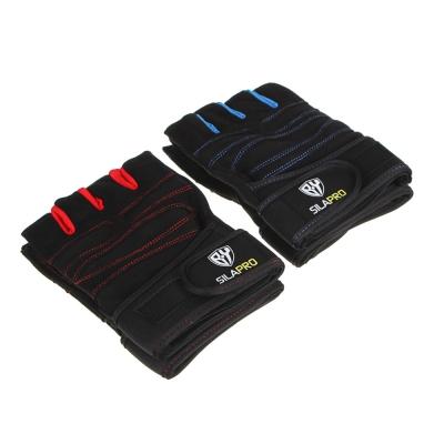 SILAPRO BY Перчатки спортивные, универсальный размер, полиэстер