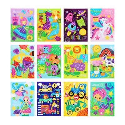 Аппликация самоклеящаяся Веселый день/Летунья, бумага, ЭВА, 16,5х23,5см, 6-12 дизайнов