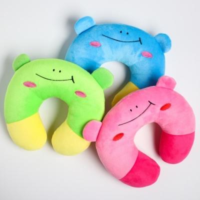 """Детская подушка для путешествий """"Улыбка"""", цвет МИКС"""