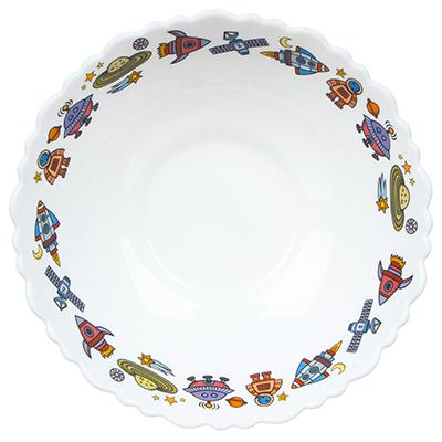 MILLIMI Бабуся Ягуся Тарелка суповая 15см, опаловое стекло