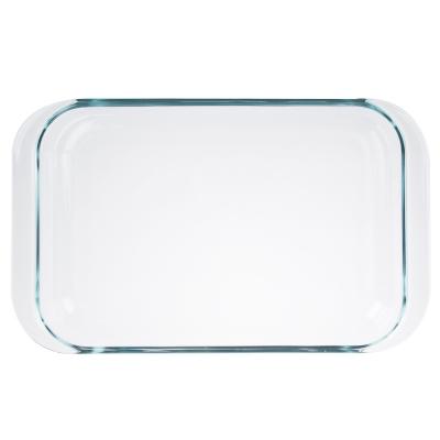 SATOSHI Форма для запекания жаропрочная прямоугольная, с ручками, стекло, 39х24х6см, 3,5л